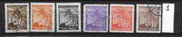 LOTE 1659  /// BOHEMIA & MORAVIA    YVERT Nº: 41/46 - Usados