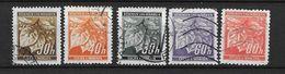 LOTE 1659  /// BOHEMIA & MORAVIA    YVERT Nº: 41/45 - Usados