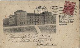 TORINO ISTITUTO NAZIONALE PER FIGLIE DI MILITARI ITALIANI 1914 - Education, Schools And Universities