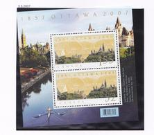 CANADA  2007 LE PARLEMENT BLOC 94MNH - 1952-.... Reinado De Elizabeth II