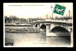 Le Pont Et La Place De La Concorde écrite 1909 Lot 803 - Bridges