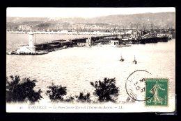 Le Phare Sainte-marie Et L'entrée Des Bassins écrite 1907 Lot 815 - Marseilles