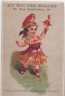 Chromo//Habillements Pour Hommes Et Enfants /Au Roi Des Halles/Rue Rambuteau/Paris/Laas/Vers 1880  IMA401 - Cromo