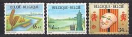 Belgie Belgique  1995 OCBn° 2582-2584 *** MNH  Cote 5,20 Euro - Belgique