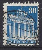 Germany 1948-52 Alliierte Besetzung  (o)  Mi.89 Wg W B - Zone Anglo-Américaine