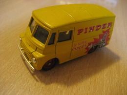 MORRIS LD150 Van Truck PINDER Le Super CIRQUE Circus Aprox. 8x3,5 Cm Vintage Miniature Auto CORGI Good Condition - Jouets Anciens