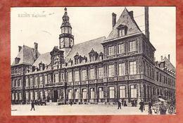 Reims, Rathaus, Per Feldpost Nach Muenchen 1917 (47118) - Reims