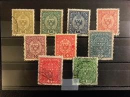 Armoiries 1917 - Usados