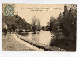 ENVIRONS DE CONDE SUR NOIREAU PONT D OUILLY BARRAGE DE L USINE - Pont D'Ouilly