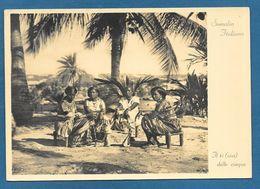 SOMALIA ITALIANA IL TE DELLE CINQUE 1935 - Somalie