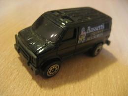 BASSETT'S Liquorice Allsorts Van Truck Aprox. 7x3 Cm Vintage Miniature Auto Good Condition - Jouets Anciens