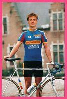 Cycliste - Cyclisme - PATRICK JONKER - Novemail - Laser Computer Cycling Team - Sponsor - Pub - Ciclismo