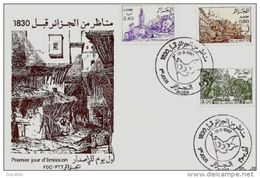 Algérie - FDC - Vues D'Algérie Avant 1830 - Alger 13-5-1982 - Algeria (1962-...)