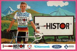 Cycliste - Cyclisme - ROB HARMELING - Ford - Fina - Sigma - Sponsor - Pub - Ciclismo