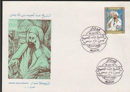 FDC 1979 Algérie  Le Cheikh Ben Badis YT 700 - Algeria (1962-...)