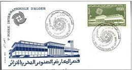 FDC ALGERIE  FOIRE INTERNATIONALE D' ALGER Yvrt N°524  1970 - Algeria (1962-...)