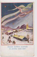 BO218 --  VESELE  BOZIC PRAZNIKE   --, CHRISTMAS /  1937 /   SLOVENIA  _  IZDALA KATOLISKA AKCIJA ZA DEKLETA V LJUBLJANI - Christmas
