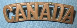 Title Canada WW1 - 1914-18