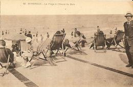 Wimereux-la Plage A L'heure Du Bain-transat-cpa - France