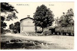 FLAGY - LA GARE - France