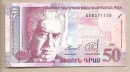 Armenia - Banconota Non Circolata Da 50 Dram P-41 - 1998 - Armenia