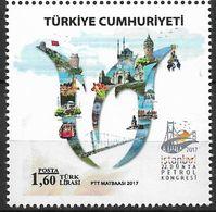 2017 Türkei Mi. 4345**MNH   Welt-Erdöl-Kongress, Istanbu - Nuevos