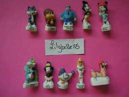 PRE Série Complète De 10 Fèves Mates En Porcelaine - ANIMANIAC II 2003 ( Feve Miniature ) - Cartoons