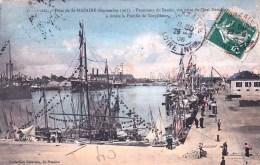 44 - Loire Atlantique - Fetes De  SAINT NAZAIRE En Septembre 1907 -panorama Du Bassin - Vue Prise Du Quai Demange - Saint Nazaire