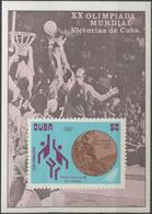 //// 1973 - Cuba Y. BF 39** - M. Block 40** - Basket-ball