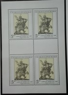 1979  Art Paintings  Durer 4 Stamps  Neuf  Gomme Originale - MUH -perfect - Tchécoslovaquie