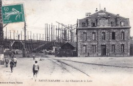44 - Loire Atlantique - SAINT NAZAIRE - Les Chantiers De La Loire - Saint Nazaire