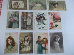 Lot De 11 Cartes Bonne Année - Cartes Postales