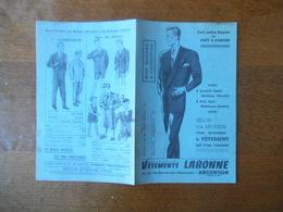 ARGENTON VÊTEMENTS LABONNE 10-12-14 RUE AUCLERT-DESCOTTES - Textile & Vestimentaire