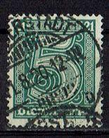 DR 1920 // Michel 16 O (017.475) - Dienstpost