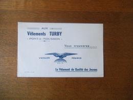 PONT-A-MOUSSON AUX VÊTEMENTS TURBY L'AIGLON FRANCE LE VÊTEMENT DE QUALITE DES JEUNES - Textile & Clothing