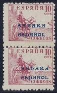ESPAÑA/SAHARA 1941 - Edifil #51 - ** MNH (Pair) - Sahara Español