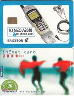 GREECE - Ericsson A2618 Mobile, TELEPOLIS(by Telestet) Internet Park 2000 GRD, 09/00, Sample(no CN) - Greece
