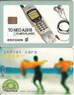 GREECE - Ericsson A2618 Mobile Phone, TELEPOLIS(by Telestet) Internet Park 5000 GRD, 09/00, Sample(no CN) - Greece