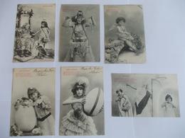 Lot De 6 Cartes De Bergeret Nancy - 5 - 99 Cartes