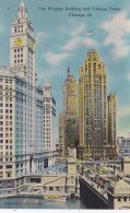 Illinois Chicago The Wrigley Building And Tribune Tower - Chicago