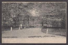 32541/ LATHOM HALL, Entrance Gate, Edward's Series, 1905 - Liverpool