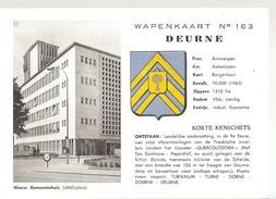 Deurne Wapenkaart (e830) - België
