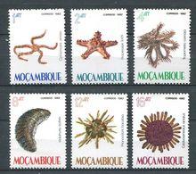 220 MOZAMBIQUE 1982 - Yvert 897/902 - Etoile De Mer Corail - Neuf **(MNH) Sans Charniere - Mozambique
