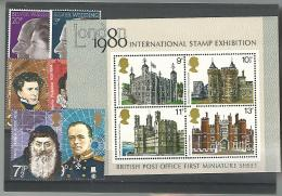 55012 ) Collection Great Britain Souvenir Sheet Block 1980 Stamp Exhibition - Great Britain