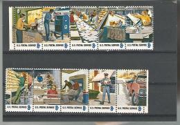 55014 ) Collection USA Strip Postal Service - Vereinigte Staaten