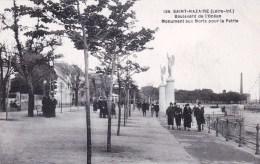 44 - Loire Atlantique -  SAINT NAZAIRE  - Boulevard De L Ocean - Monument Aux Morts - Saint Nazaire