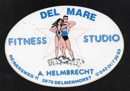 FITNESS STUDIO DEL MARE 2870 DELMENHORST  - Autocollant  - Ref: 849 - Stickers
