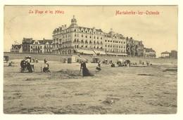 #11854[Postkaart] Mariakerke-lez-Ostende / La Plage Et Les Hôtels / Edit. V.G. [oostende Quitmann Hotel Strand Vrouw Ko - Oostende