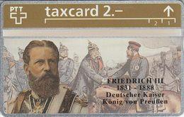 King Cards : Friedrich III 303L - Switzerland