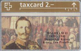King Cards : Wilhelm II 326L - Switzerland